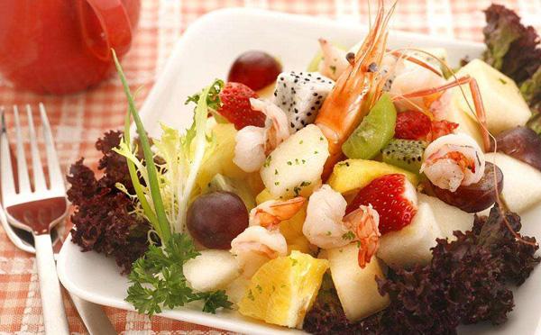 斐济美食的水果和零食